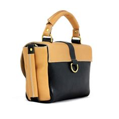 Mumu Dina Leather Black Bag | Lubochka