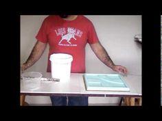 Como fazer placas de gesso em casa                                                                                                                                                                                 Mais
