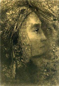 Spring, 1883, Odilon Redon