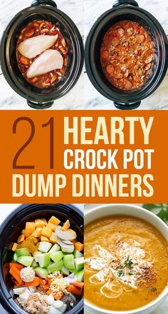 Don't let the name scare you, says BuzzFeed Food. These dump dinners are the way to go. Just fire up your crock pot and throw everything in. You're a few hours away from a delicious meal!
