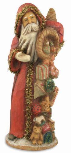 Christmas Cornucopia Santa Claus