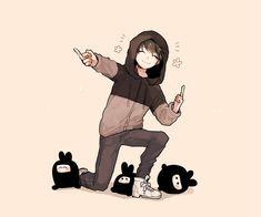 시무@dkdlel_anjさんから ラーヒー可愛い…( ◜ω◝ ) Manga Anime, Manga Boy, Anime Art, Anime People, Anime Guys, Hottest Anime Characters, Touken Ranbu, My Hero Academia, Cute Boys