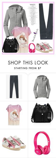 """Bhalo #82"" by almedina-86 ❤ liked on Polyvore featuring The North Face, MICHAEL Michael Kors, Golden Goose, Apple, bhalo and bhalo3"