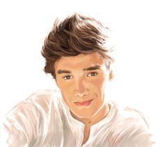 Liam Payne One Direction Drawing