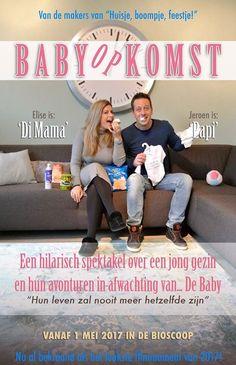 Deze leuke zwangerschapsaankondiging stuurden Elise en Jeroen ons :)