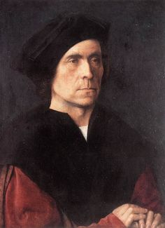 Michel Sittow (Estonia,1469-1525) ~ Portrait of a Man (1510s) ~ Michael Sittow, also known as Master Michiel, Michel Sittow, Michiel, Miguel and many other variants, was a painter from Reval who was trained in the tradition of Early Netherlandish painting.