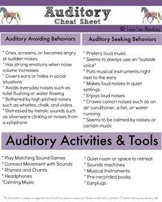 Auditory System Cheat Sheet