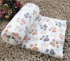 Купить товар3 размеров питомника коврик термоодеяла собака одеяло горошек…