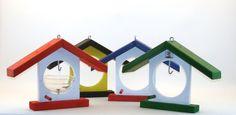 *Meisenknödelhaus in Vereinsfarben, Landesfarben, Gemeindefarben*      +Dieses Vogelhäuschen ist DER HIT !!!+    Im Herbst/Winter dient es als Meisenk