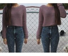 Cute Cropped Sweater TOPSHOP Knitted Textured Crop Jumper ...