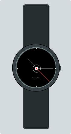 Epicenter  wristwatch design by Abhinav Misra