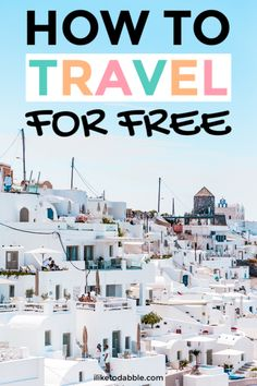 How to get free flights and free travel. Free Travel, Cheap Travel, Budget Travel, Family Vacation Destinations, Travel Destinations, Family Vacations, Cruise Vacation, Disney Cruise, Ways To Travel