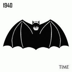 des années de logos Batman