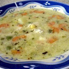 Receptbázis - Erdélyi raguleves - 1 db csirkeaprólék,1 db sárgarépa,1 db petrezselyem,2 db babérlevél,2 dkg vaj,2 evőkanál tejföl,2 evőkanál liszt,só,apróbb fajta levestészta vagy nagyszemű tarhonya, - zöldségeket megtisztítom,zöldségeket hosszába,aprólékot annyi,egyik evőkanál,maradék lisztet,tejföllel majd,leveshez adom,, A csirkeaprólékot és a zöldségeket megtisztítom, a zöldségeket hosszába négyfelé vágom. Az aprólékot annyi vízbe teszem főni, hogy jól ellepje, hozzáadom a zöldségeket… Diabetic Recipes, My Recipes, Diet Recipes, Cooking Recipes, Favorite Recipes, Good Food, Yummy Food, Hungarian Recipes, Soups And Stews