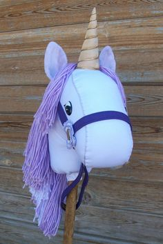 MADE TO ORDER Classic Collection Purple Unicorn by RusticHorseShoe