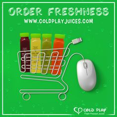 Make today your juice day! Visit www.coldplayjuices.com and get fresh cold pressed juices delivered right at your doorstep. #ColdPlay #Juices #Fresh #Online #Shopping #Delivery #Healthy #Mumbai #Fresh #Natural #LetsColdPlay