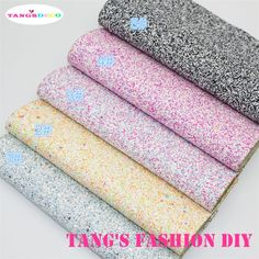 5PCS   High Quality DIY chunky fluo color mix color glitter PU leathers/Synthetic leather/DIY fabric 20x22cm per pcs CAN CHOOSE-in Synthetic Leather from Home & Garden on Aliexpress.com | Alibaba Group