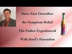 Symptom Relief with Sisel's Fucoydon For more information on these great products that are chemical and toxin free go to https://kimicke.mysisel.com/en/US/home.htm