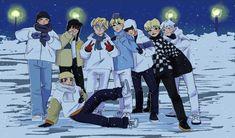 Kids Fans, Kpop Fanart, Cartoon Kids, Percy Jackson, Stay Warm, Art For Kids, Real Life, Fan Art, Cute