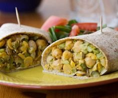 Yummy lunch idea - What do do with Chick peas