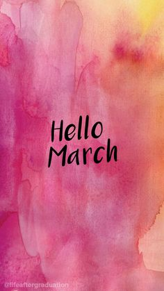 Full HD and pictures for mobile phone, tablet, laptop and PC which are in category Hello March Wallpaper. Wallpaper For Your Phone, Iphone Background Wallpaper, Cellphone Wallpaper, Aesthetic Iphone Wallpaper, Cool Wallpaper, Mobile Wallpaper, Wallpaper Quotes, March Backgrounds, Cute Backgrounds