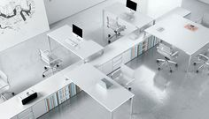 Do you think if our office space was this neat and organized looking, our brains would be too?