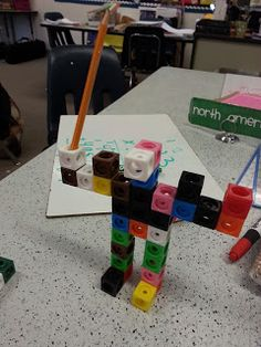 Tried It Tuesday - Linking Cubes for Math Practice