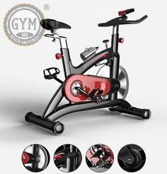 Home Gym Exercise Bike/Cycle Magnetic Trainer Cardio Fitness Workout Machine #UniClick