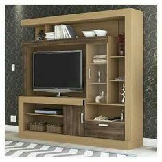 Image output from entertainment centers Modern Tv Cabinet, Modern Tv Wall Units, Tv Cabinet Design, Tv Showcase Design, Tv Wall Cabinets, Living Room Tv Unit Designs, Tv Unit Furniture, Rack Tv, Entertainment Wall Units
