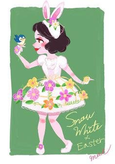 Easter Princess Snow White