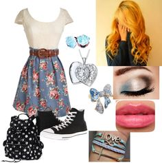"""""""Last day of school!"""" by zombie-ninja143 ❤ liked on Polyvore"""
