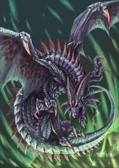 ☆ Purple Dragon :¦: By ~LusiaNanami ☆