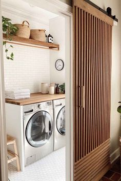 Design A Laundry Room - Organised Pretty Home