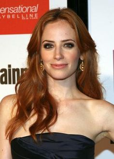 Photos of gorgeous red hair color, red hairstyles on celebrities and more: Jaime Ray Newman