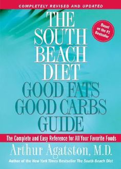 The South Beach Diet Good Fats, Good Carbs Guide : The Complete and Easy Reference for All Your Favorite Foods