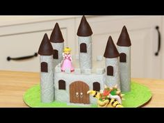 HOW TO MAKE A CASTLE CAKE - NERDY NUMMIES - YouTube