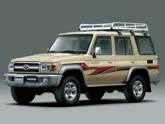 The Land Cruiser currently has the longest running history in the Toyota lineup. With origins from the Toyota Jeep BJ which was created in the name La. Toyota Lc, Used Toyota, Toyota Cars, Toyota Vehicles, Toyota Trucks, Land Cruiser Models, Land Cruiser 70 Series, Toyota Landcruiser For Sale, Toyota For Sale