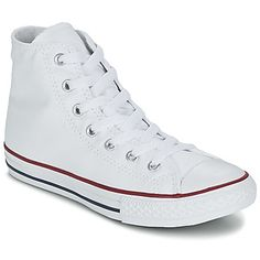 gave Converse chuck taylor all star core hi jongens sneakers (Wit)