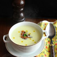 If you try this cream soup recipe I think you will like it. Cream Soup Recipes, Romanian Food, Soul Food, Cheeseburger Chowder, I Foods, Food Porn, Food And Drink, Vegetarian, Favorite Recipes