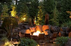 5 Startling Cool Tips: Flagstone Fire Pit Gardens fire pit chairs how to build.Fire Pit Australia Home fire pit wood coffee tables.Fire Pit Backyard Above Ground. Fire Pit Chairs, Fire Pit Seating, Seating Areas, Fire Pit Landscaping, Fire Pit Backyard, Camping Fire Pit, Rustic Landscaping, Landscaping Tips, Outdoor Fire