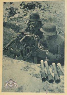 Militaria: FOTOGRAFÍA-POSTAL DIVISIÓN AZUL - Foto 1 - 50467592