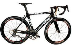 The Dream Bike is built on a Cervelo soloist carbon super light frame and weighs less than 1kg