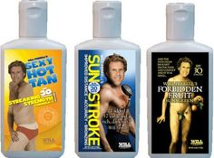 Suncreen Lotion by Will Ferrell Bad Humor, Secret Lovers, Will Ferrell, Tv Commercials, How To Raise Money, Cancer Awareness, Sunscreen, The Funny, Charity