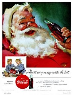 .Coke Santa