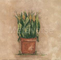 Corn art print at Coffee Decor