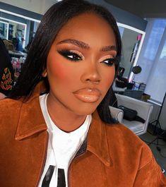Glam Makeup Look, Black Girl Makeup, Cute Makeup, Girls Makeup, Gorgeous Makeup, Makeup Looks, Flawless Makeup, Skin Makeup, Beauty Makeup