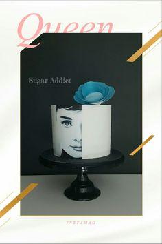 #audreyhepburn #birthdaycake #sugaraddict