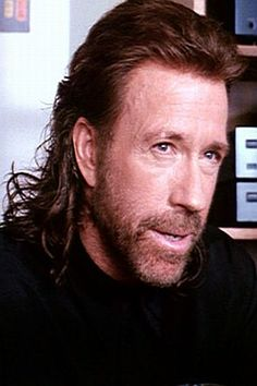 Chuck Norris! He once roundhouse kicked someone so hard that his foot broke the speed of light, went back in time, and killed Amelia Earhart while she was flying over the Pacific Ocean. Hail to the power of the mullet!