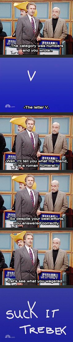 Will Ferrell as Alex Trebek