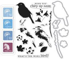 Hero Arts Color Layering BIRD AND BRANCH BUNDLE SB111 zoom image